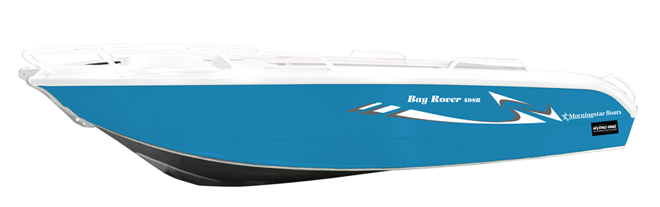 Morningstar Boats Açık Mavi